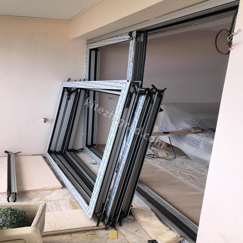 Квартира в Каннах. Франция. Раздвижные окна ASS 70.HI
