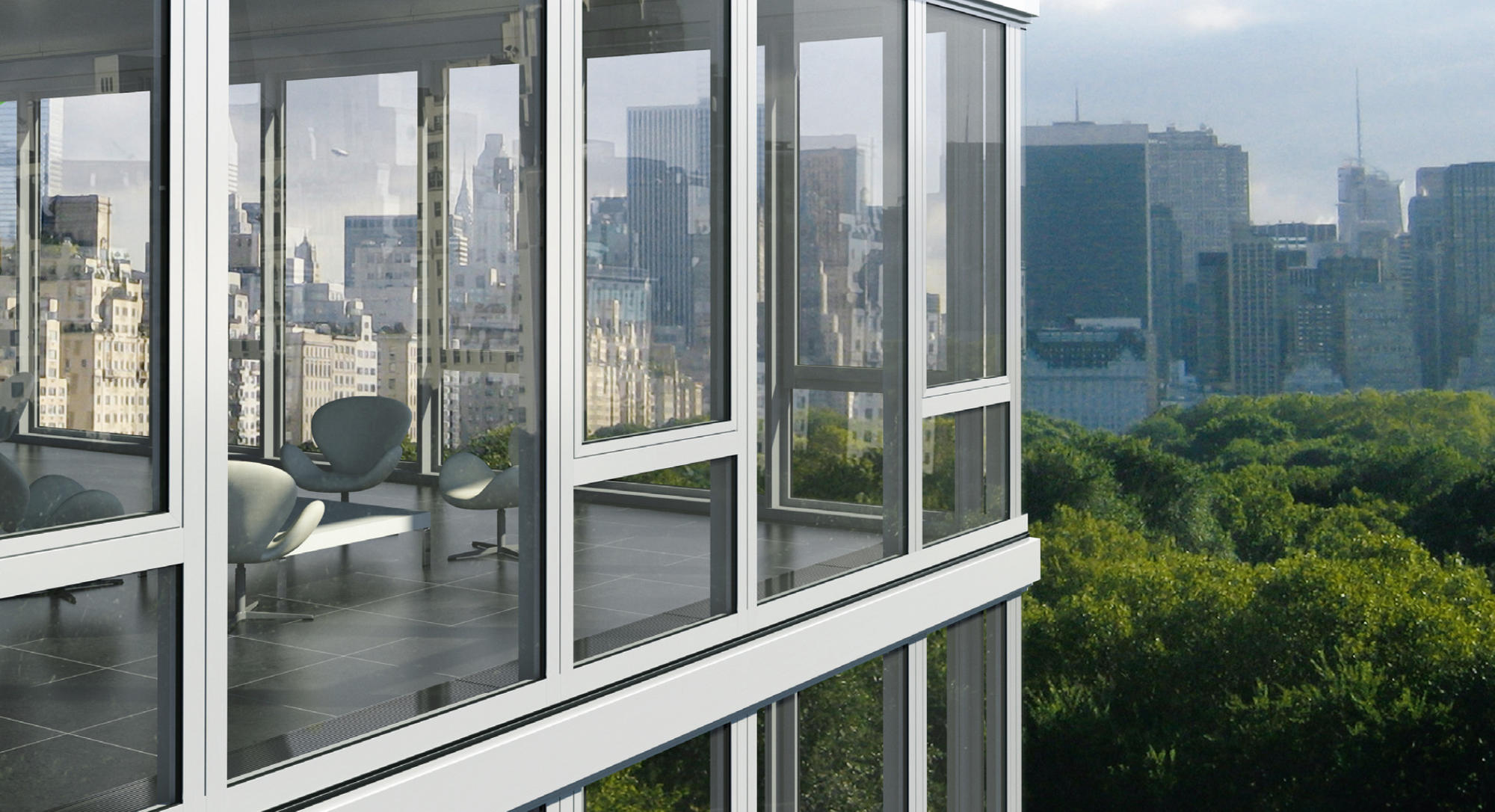 Модели Schuco для остекления квартир и частных домов