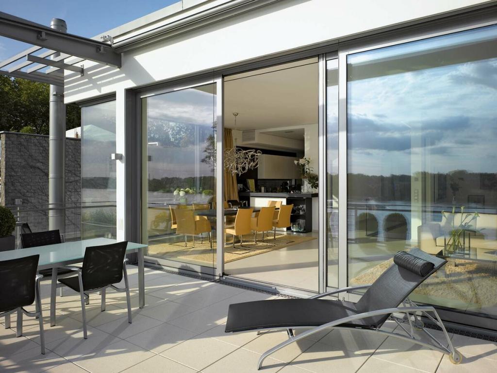 Окна из алюминиевого профиля – новое направление для энергоэффективных домов